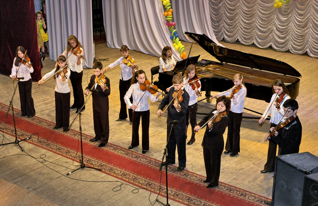 Ансамбль скрипачей старших классов «Романтика»