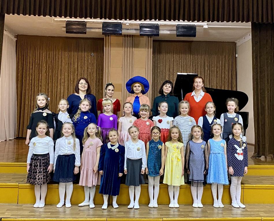 «Посвящение в музыканты»: театрализованный урок-праздник для учащихся первых классов хорового отделения (09.11.2020)